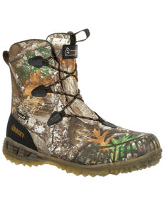 Rocky Men's Broadhead EX Waterproof Outdoor Boots - Round Toe, Camouflage, hi-res