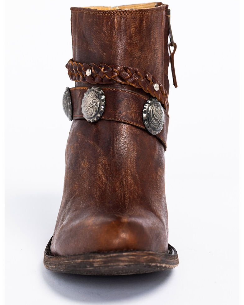 Idyllwind Women's Fierce Brown Western Boots - Round Toe, Brown, hi-res