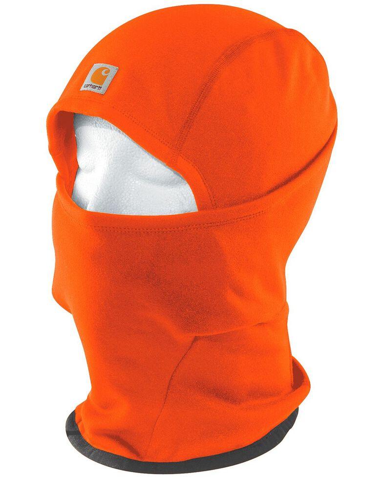 Carhartt Men's Fleece 2-in-1 Headwear, Orange, hi-res