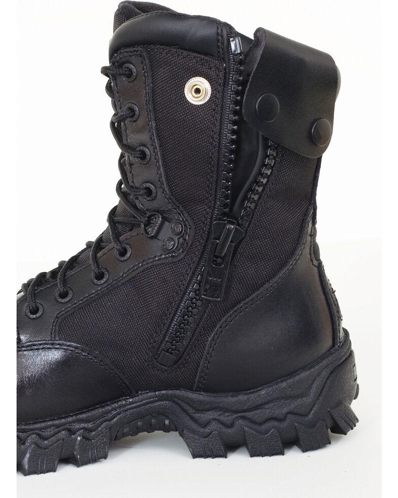 Rocky Men's Alpha Force Military Boots, Black, hi-res