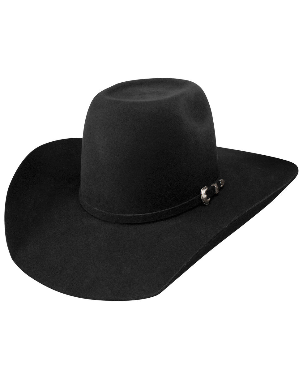 Resistol Black Pay Window Jr. Western Hat, Black, hi-res