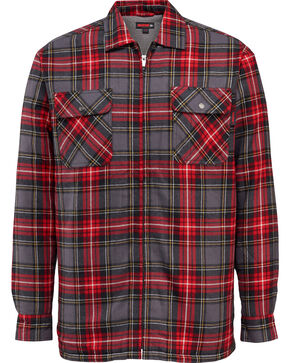 Wolverine Men's Marshall Shirt Jac, Red, hi-res