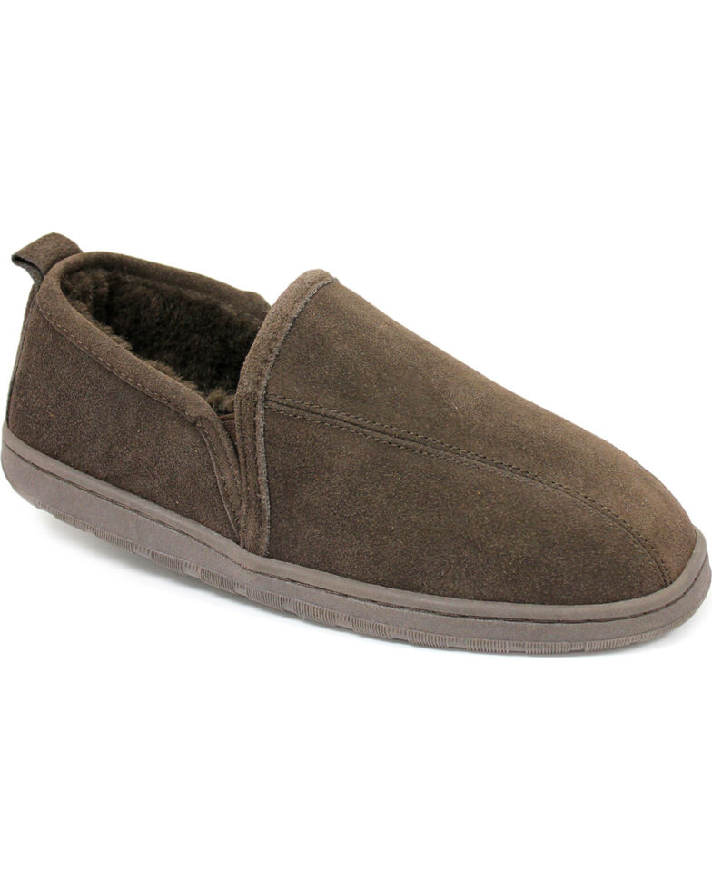 Lamo Footwear Men's Classic Romeo Slippers, Chocolate, hi-res