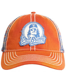 Dale Brisby Men's Logo Patch Denim Ball Cap , Red, hi-res