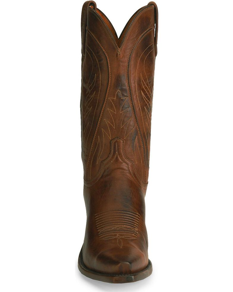 "Lucchese Men's 1883 Pull-On 13"" Western Boots, Tan, hi-res"