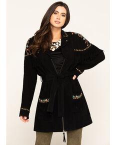Double D Ranchwear Women's Guarache Jacket, Black, hi-res