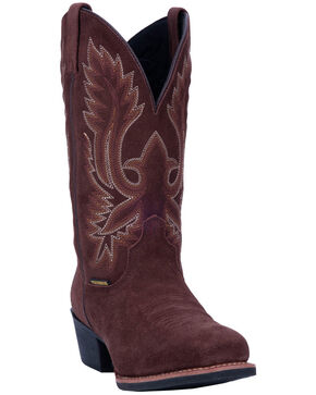 Laredo Men's Colton Western Boots - Narrow Square Toe, Rust Copper, hi-res