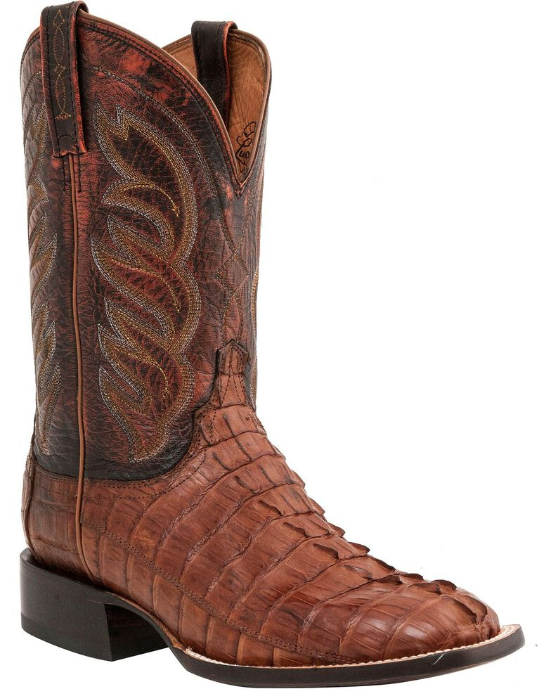 Lucchese Men S Hornback Caiman Tail Exotic Boots Boot Barn