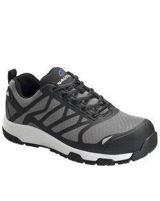 Nautilus Men's Grey Velocity Work Shoes - Composite Toe, Grey, hi-res