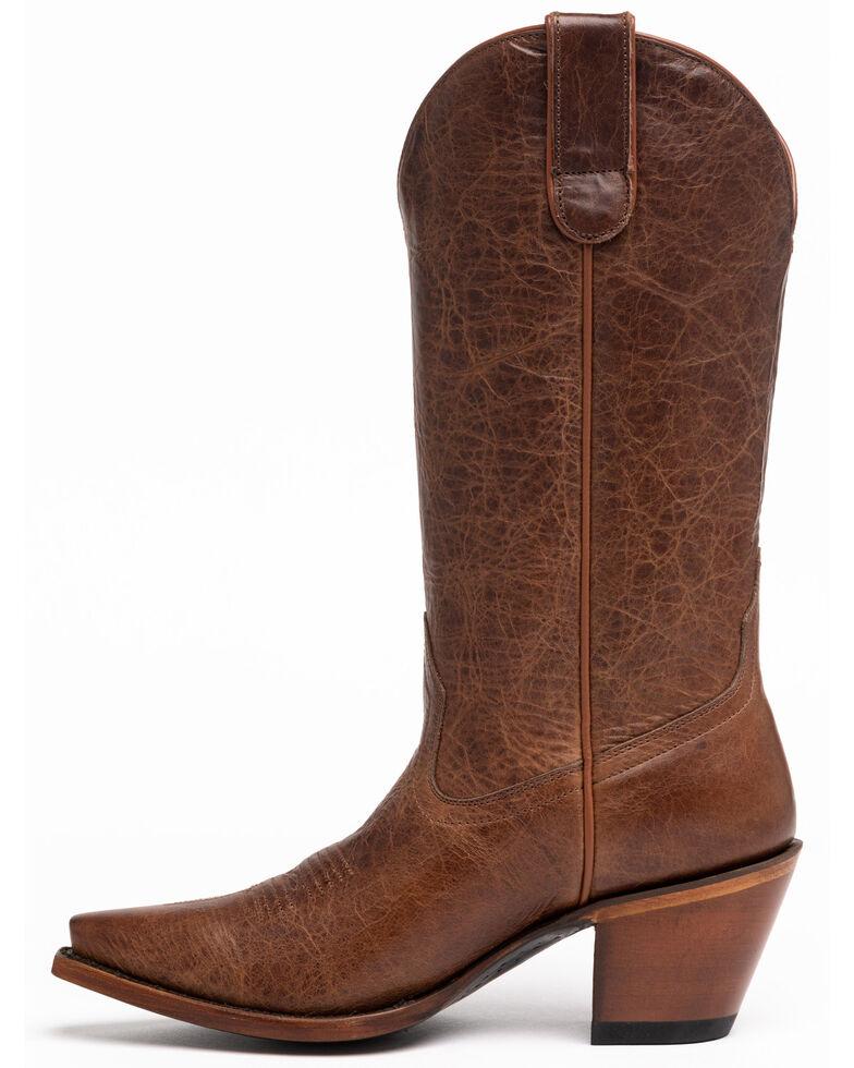Shyanne Women's Trish Western Boots - Snip Toe, Brown, hi-res