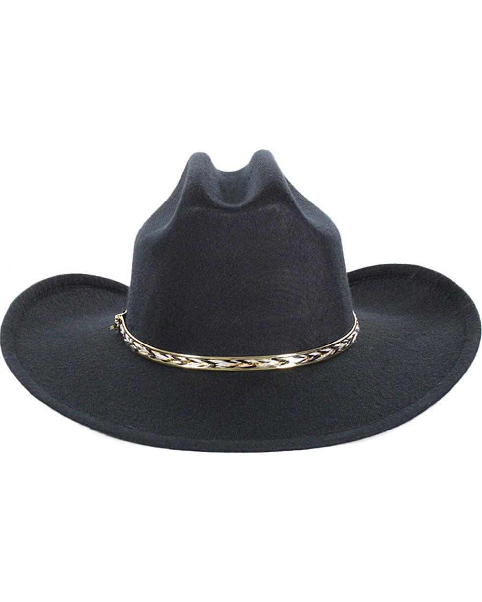 Cody James® Kid's Cowboy Hat, Black, hi-res