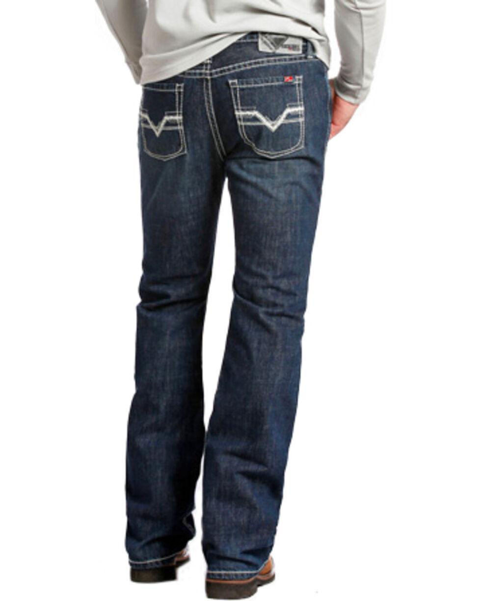 Rock & Roll Cowboy Men's Pistol Flame Resistant Jeans, Indigo, hi-res