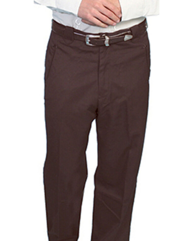 Scully Western Trouser Pants, Brown, hi-res