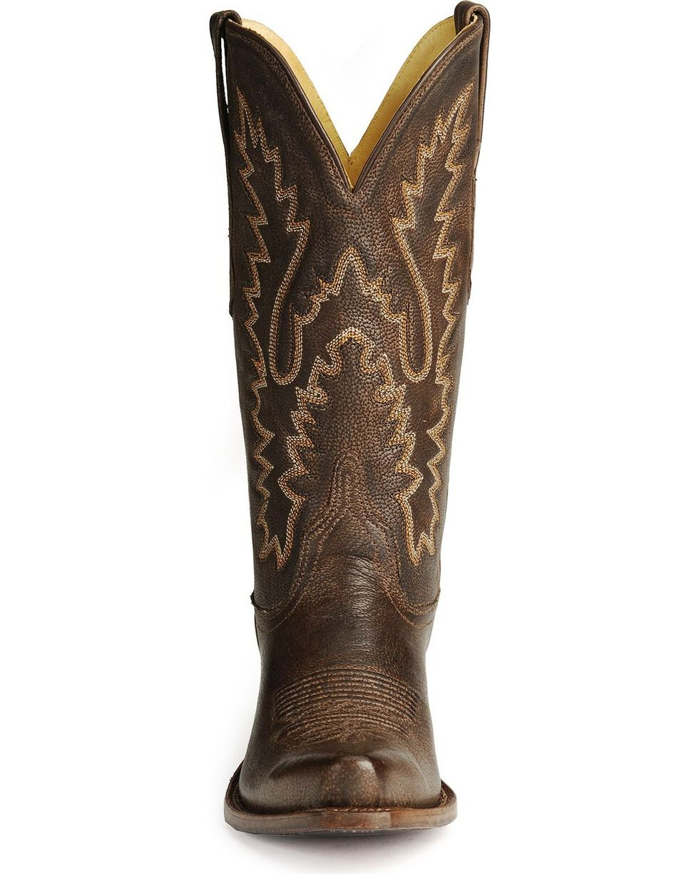 Old West Women's Fashion Western Boots, Dark Brown, hi-res