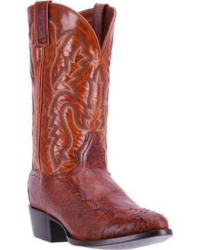 Dan Post Men's Pugh Exotic Boots, Cognac, hi-res