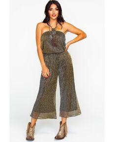 06dff7898685 Dance   Marvel Women s Plated Wide Leg Tube Jumpsuit