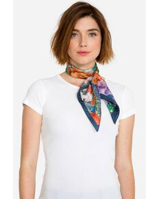 Johnny Was Women's Dover Silk Scarf, Multi, hi-res
