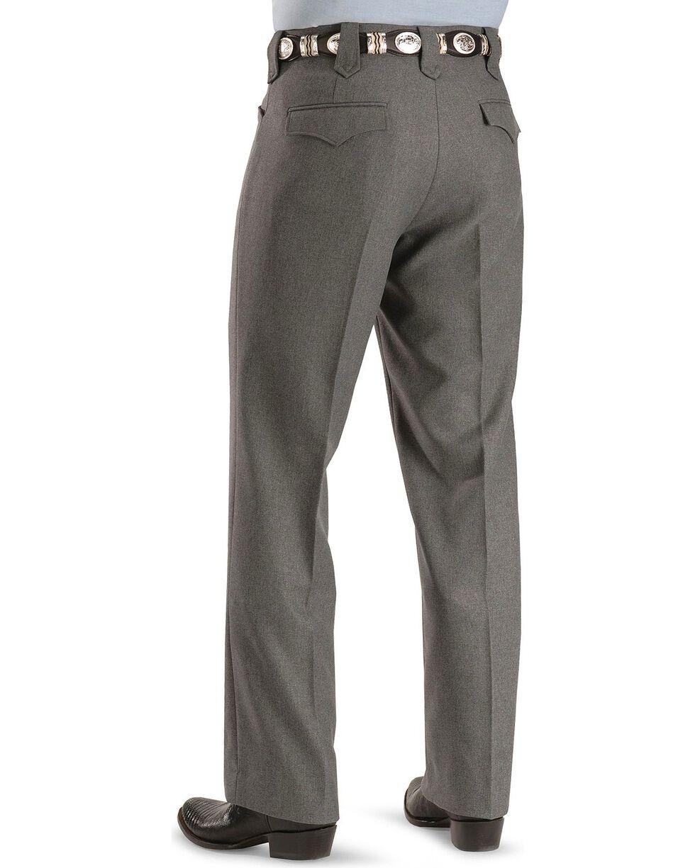 Circle S Men's Heather Ranch Dress Pants, Hthr Grey, hi-res