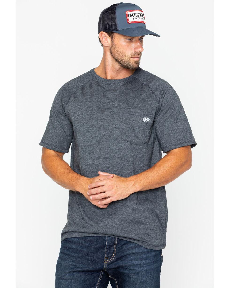 Dickies Men's Temp-IQ Performance Cooling T-Shirt -Tall, Black, hi-res