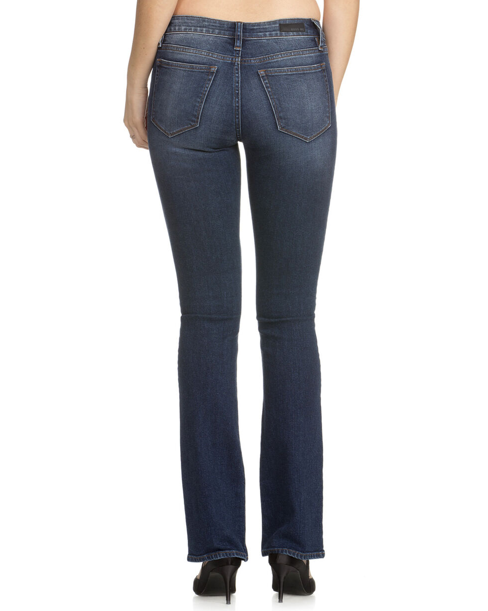 Miss Me Women's The Simple Things Mid-Rise Boot Cut Jeans, Indigo, hi-res