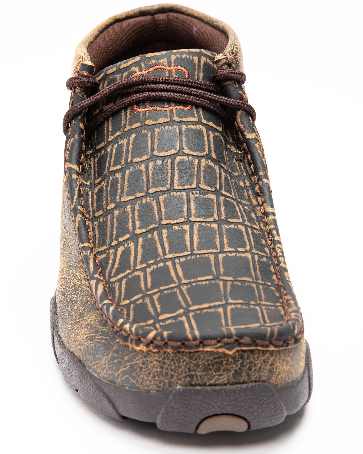 Twisted X Men's Caiman Print Driving
