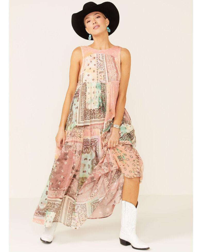 Free People Women's Bandana Rama Maxi Dress, Multi, hi-res