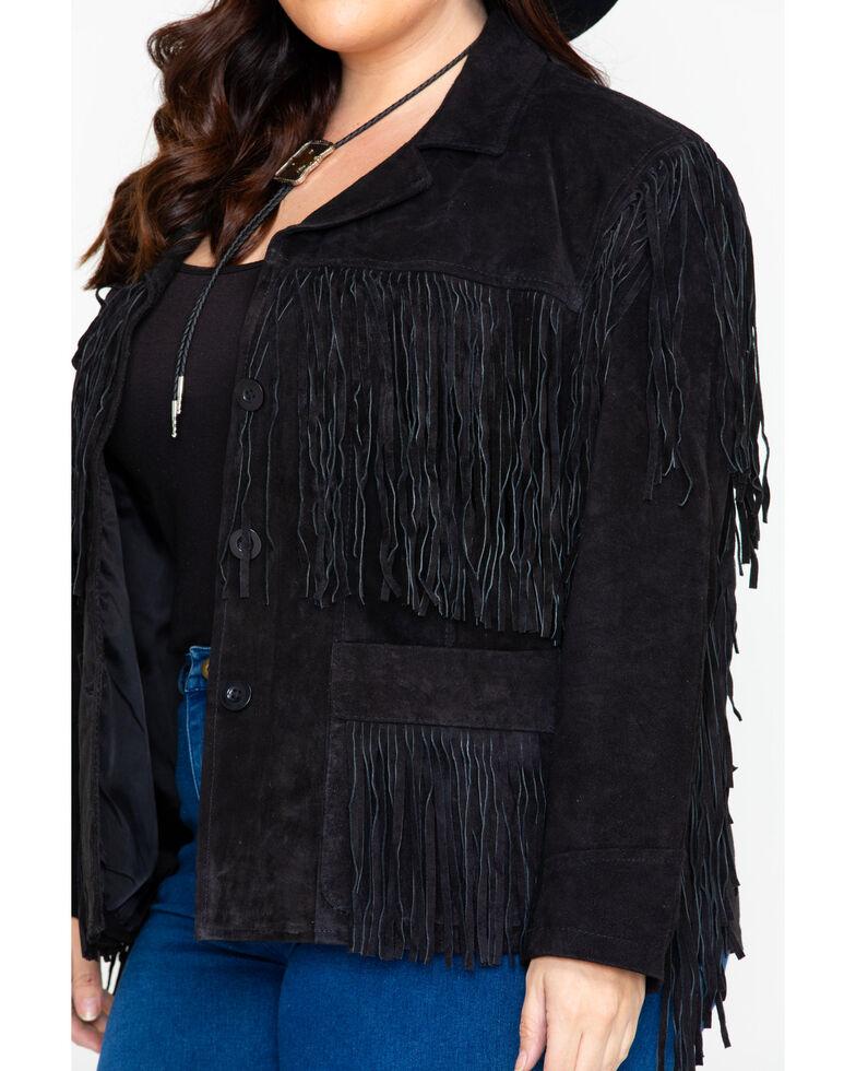 b89cb7090 Liberty Wear Women's Fringe Leather Jacket