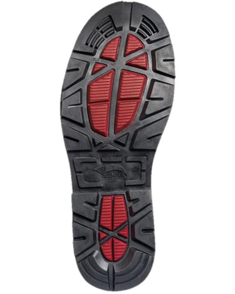 Avenger Men's Hammer Met Guard Western Work Boots - Carbon Safety Toe, Brown, hi-res