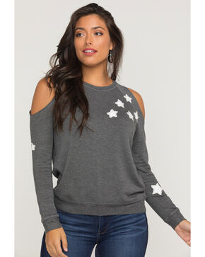 Idyllwind Women's Stargaze Fleece Top, Charcoal, hi-res