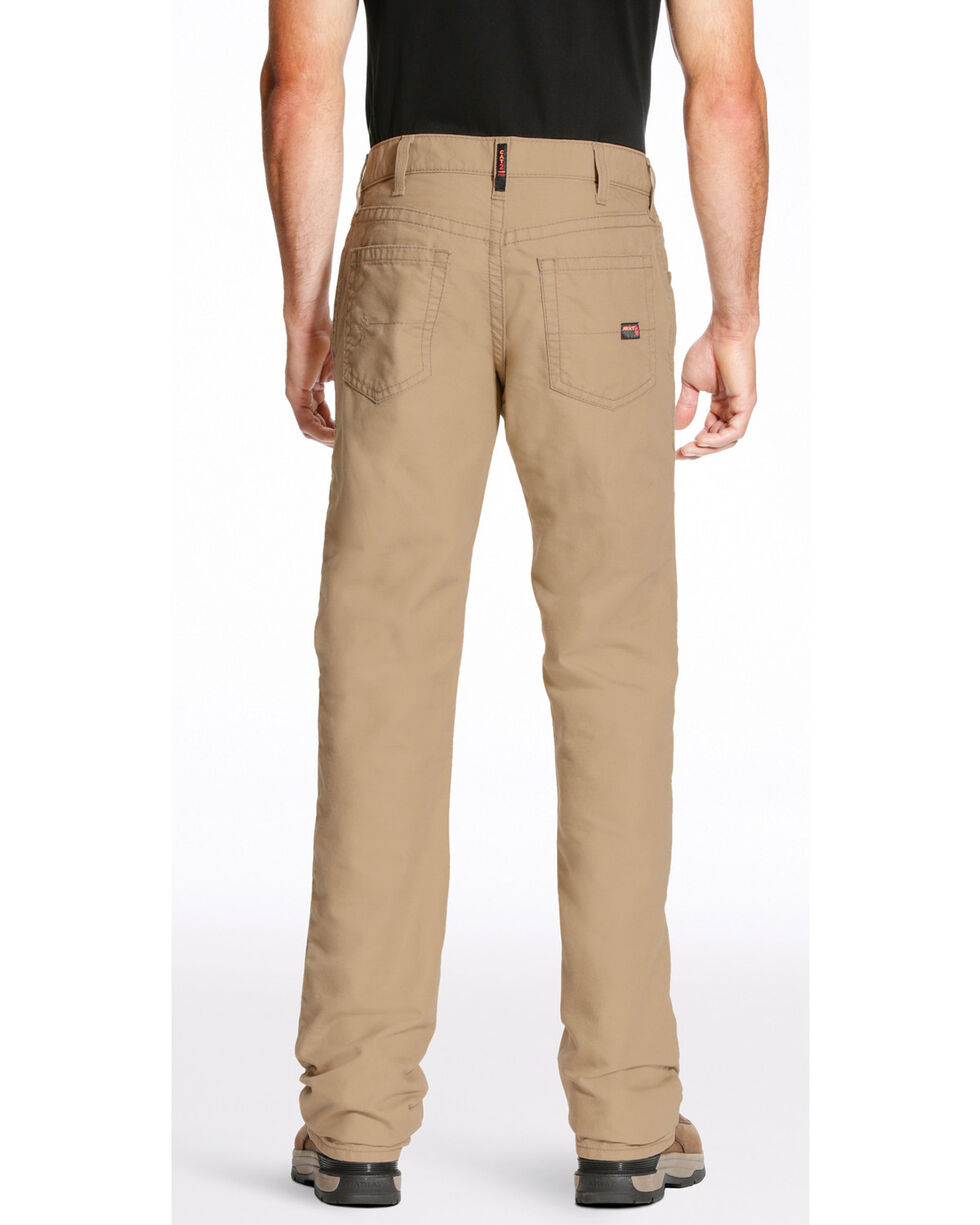 Ariat Men's FR M4 Relaxed Workhorse Boot Cut Pants, , hi-res