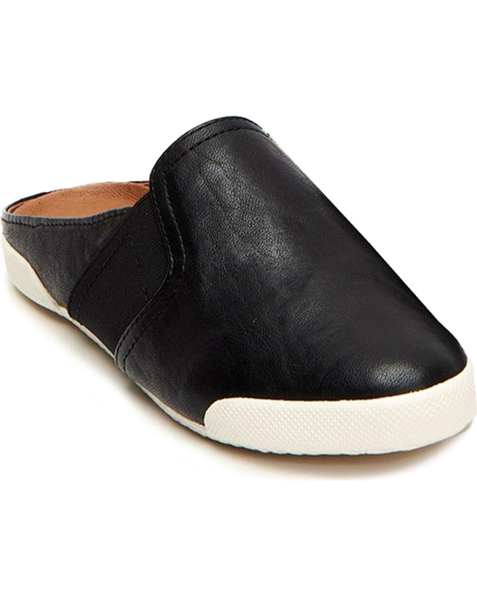 Frye Women's Melanie Gore Mule Shoes , Black, hi-res