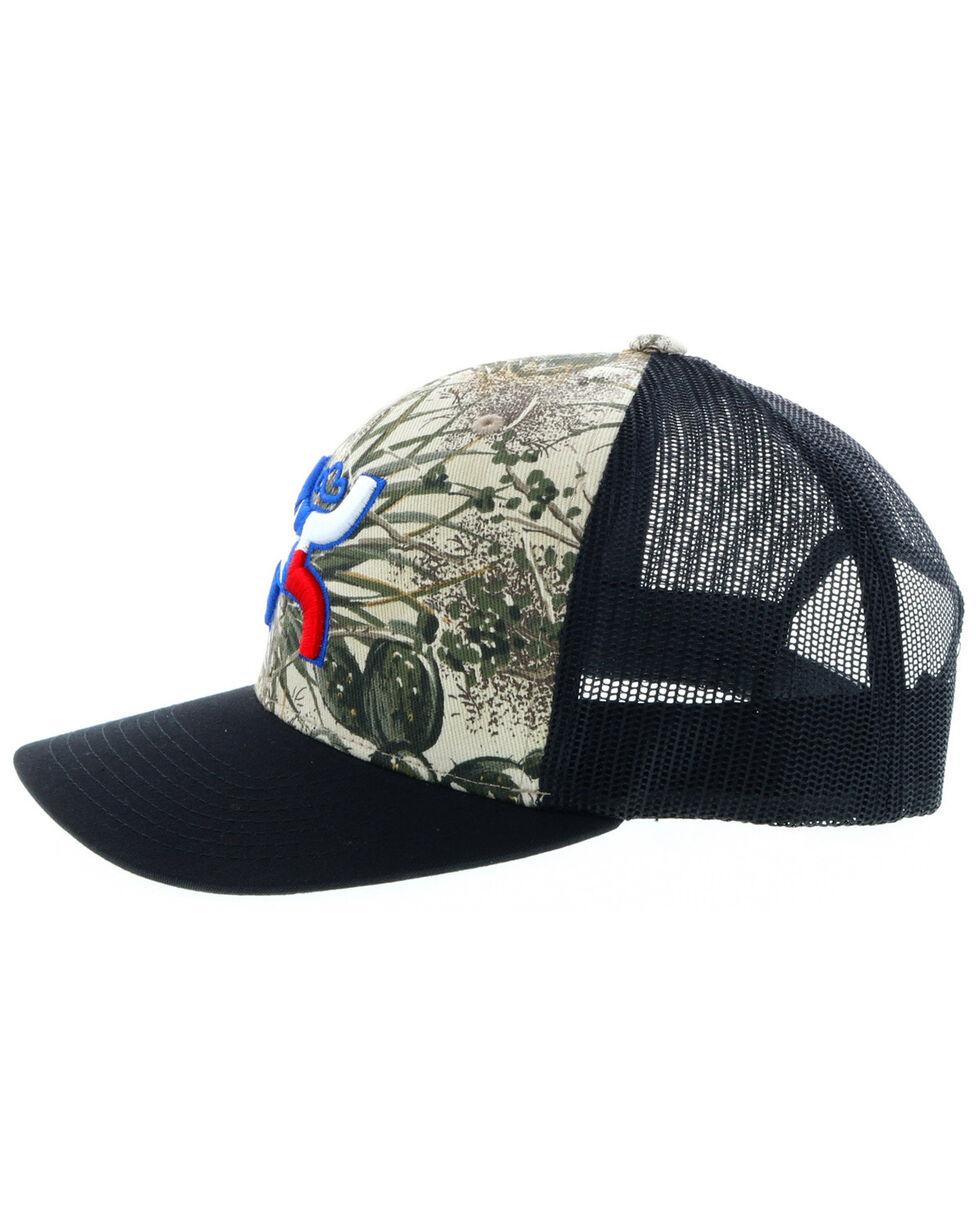 HOOey Men's Black Game Guard Texas Trucker Cap , Black, hi-res
