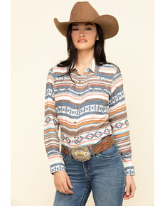 Ariat Women's R.E.A.L. Tribal Long Sleeve Western Shirt, Multi, hi-res