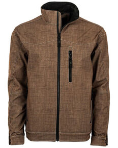 STS Ranchwear Boys' Brown Youth Perf Jacket , Brown, hi-res