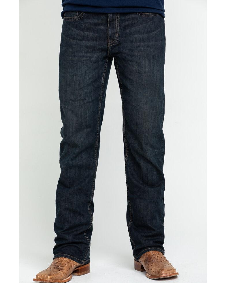 Cody James Men's Stampede Stretch Slim Bootcut Jeans , Blue, hi-res
