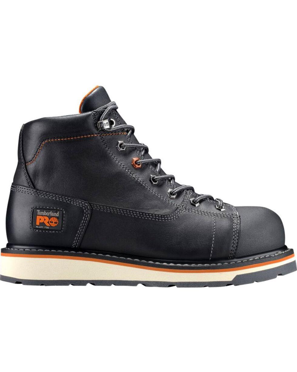 Timberland Men's Grindwork Alloy Toe Work Boots, Black, hi-res