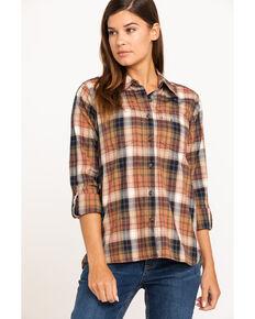 Carhartt Women's Fairview Plaid Shirt , Brown, hi-res