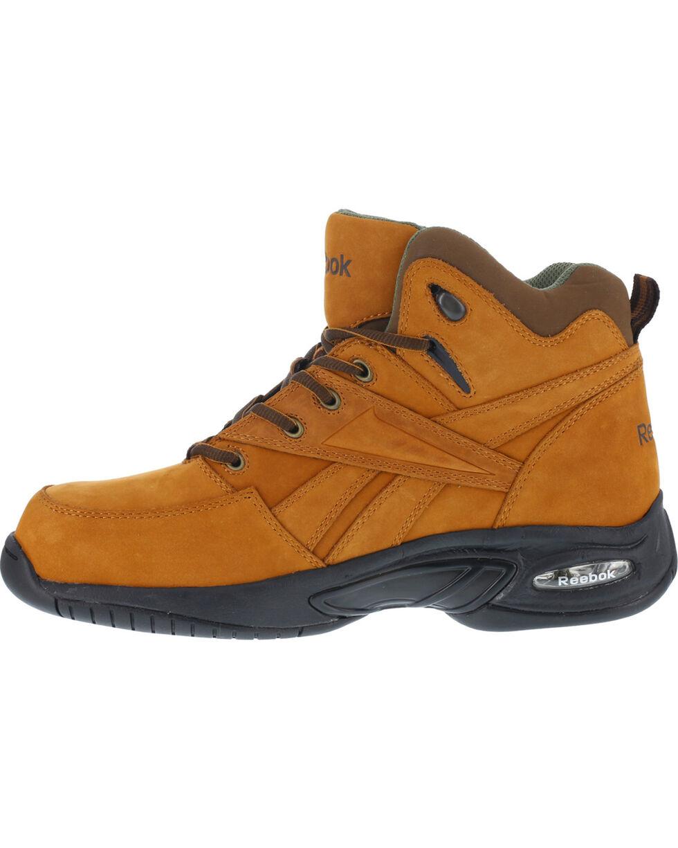 Reebok Men's Tyak Hiking Work Boots - Composite Toe, Tan, hi-res