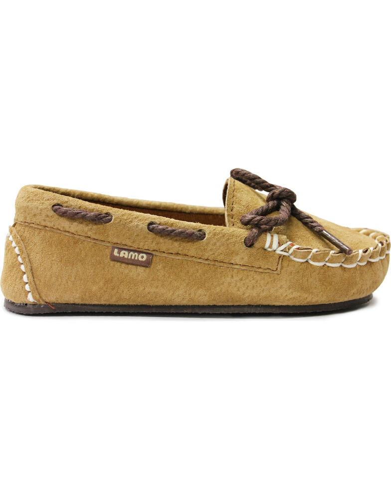 Lamo Footwear Sabrina Kid's Moccasins  , Chestnut, hi-res