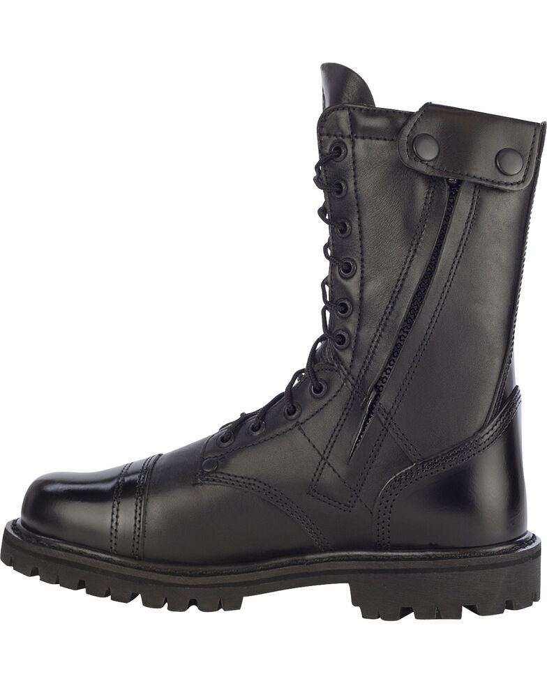 Rocky Women's Military Jump Boots, Black, hi-res