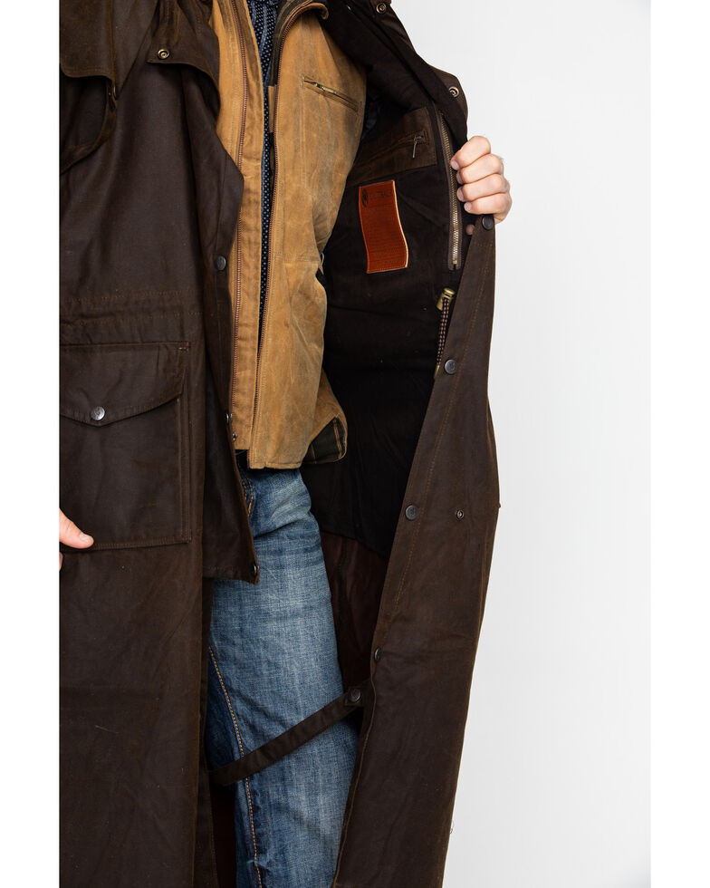 Outback Trading Co. Stockman Waterproof Duster, Bronze, hi-res