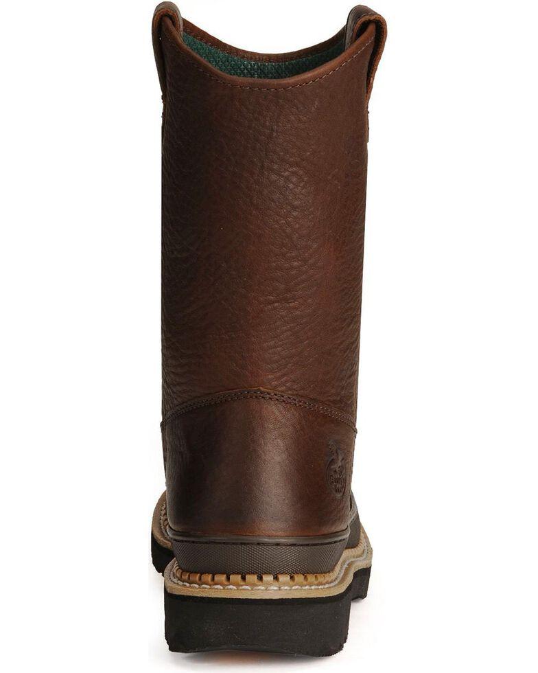 Georgia Men's Wellington Giant Steel Toe Work Boots, Brown, hi-res