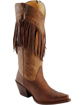 Tony Lama Women's 100% Vaquero Western Boots, Brown, hi-res