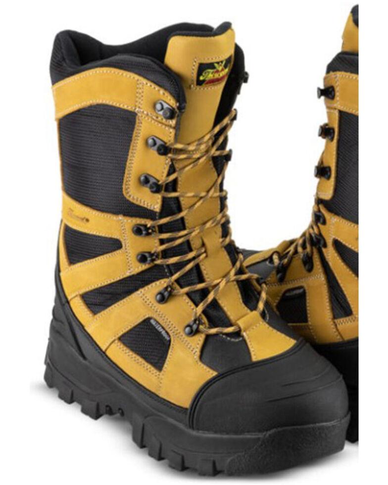 Thorogood Men's Endeavor Extreme Waterproof Outdoor Boots - Soft Toe, Black, hi-res