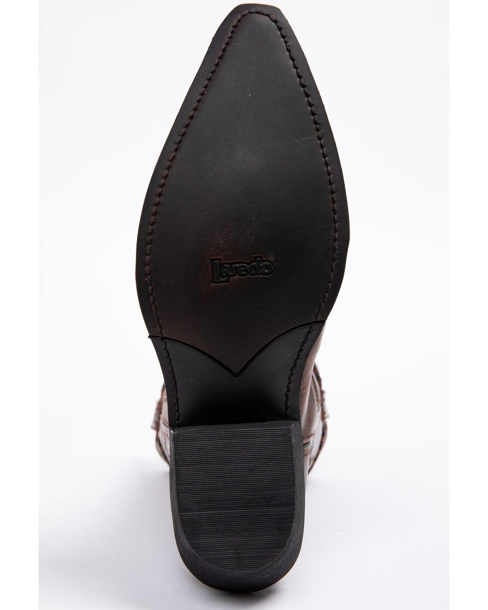 Laredo Men's Laramie Snip Toe Western Boots, Rust, hi-res