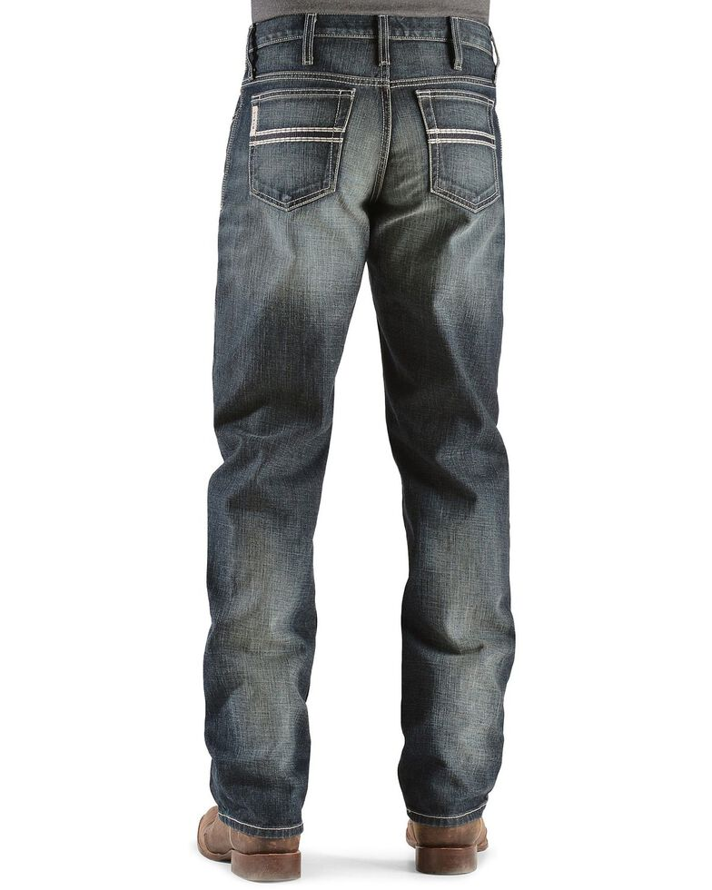 Cinch Men's White Label Relaxed Fit Jeans, Dark Stone, hi-res