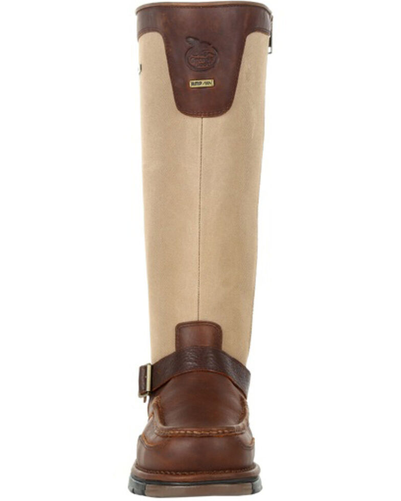 Georgia Boot Men's Athens Waterproof Snake Boots - Soft Toe, Brown, hi-res