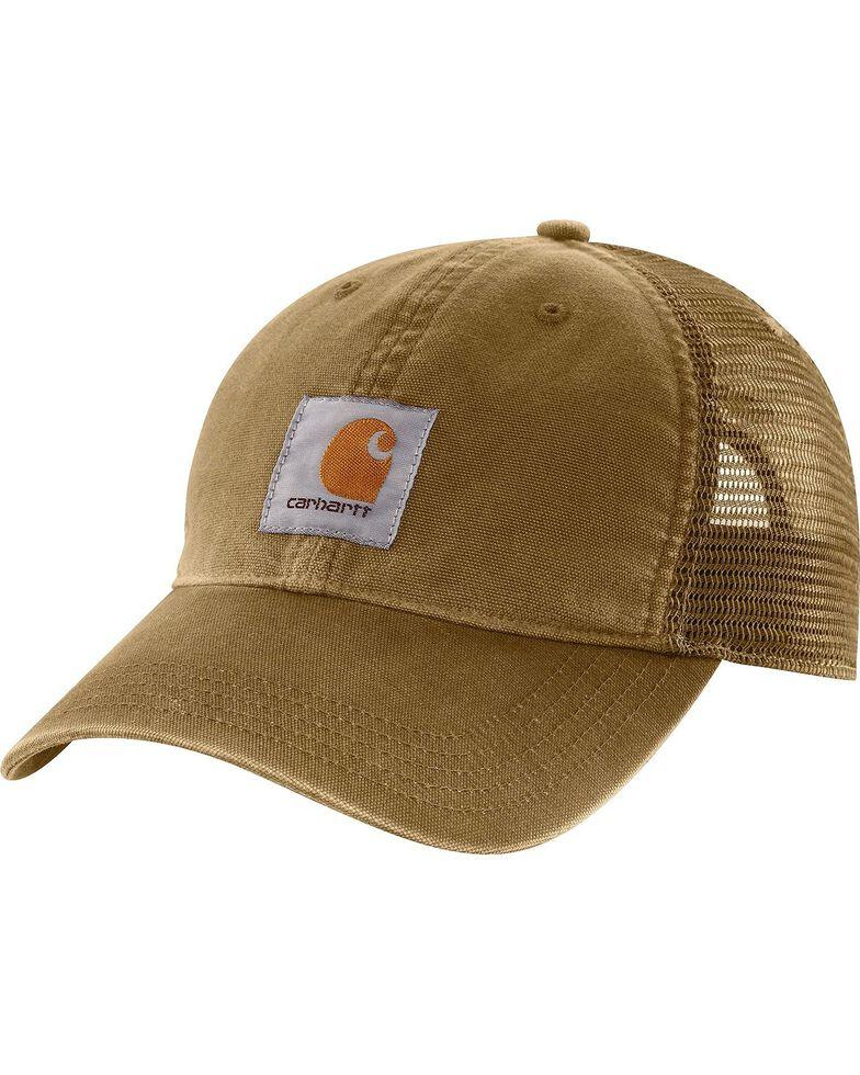 Carhartt Buffalo Sandstone Mesh Back Cap, Dark Khaki, hi-res
