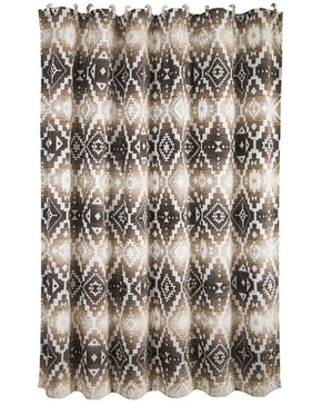 HiEnd Accents Chalet Aztec Shower Curtain , Multi, hi-res