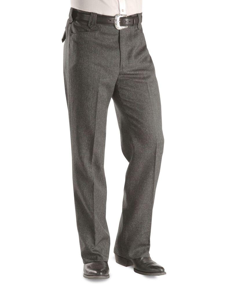 Circle S Men's Heather Ranch Dress Pants, Hthr Charcoal, hi-res